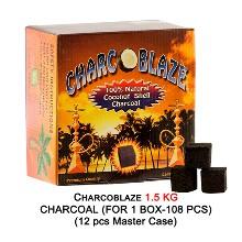 Charcoblaze 1.5kg Charcoal 108 Pcs