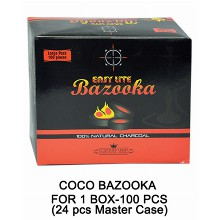 Charcoal Easy Lite Bazooka 1 Box 100 Pcs
