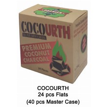 Cocourth Slow Burn Charcoal 24 Pcs