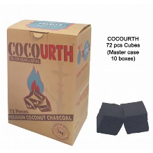 Cocourth Slow Burn Charcoal 1kg 72 Pcs