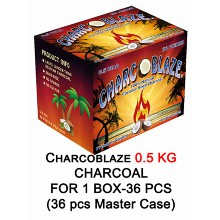 Charcoblaze Slow Burn Charcoal 1 Box 36pcs
