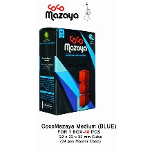 Cocomazaya Medium Blue 1 Box 48pcs 22mm