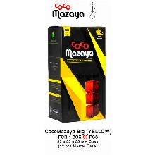 Coco Mazaya Big Box Hookah Charcoal Cubes