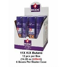 Kix 11x Butane 420ml