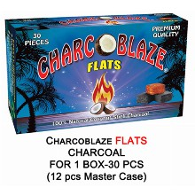 Charcoblaze Flats Charcoal 1box 30 Pcs