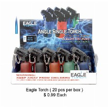 Eagle Angle Single Torch