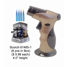 4.0 Inch Quad Flames Scorch Torch