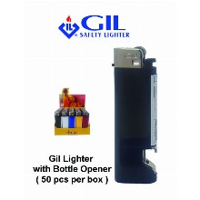 Gil Lighter With Bottle Opener