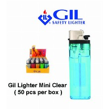 Gil Lighter Mini Clear