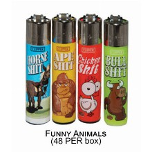 Clipper Lighter Funny Animals