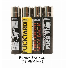 Clipper Lighter Funny Sayings