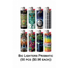 Bic Lighter Prismatic