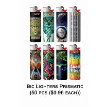 Bic Lighter Prismatic 0246 2