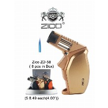 4.0 Inch Zico Zd 58 Torch Lighter
