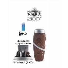 3.0 Inch Zico Zd 70 Tripple Flames Torch Lighter