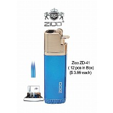 Zico Zd 41 Double Flame Torch Lighter