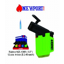 3.0 Inch Newport Zero Rubber Torch Lighter