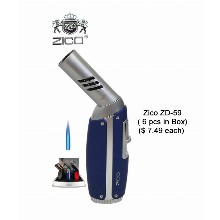 Zico Zd 59 Spining Head Torch Lighter