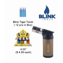 4 Inch Blink Tiger Torch 4 Flames