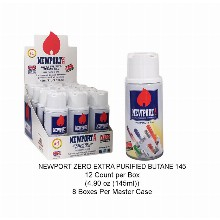 Newport Zero Extra Purified Butane 145 4.90oz