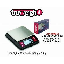Truweight Digital Mini Scale Lux 1000 01