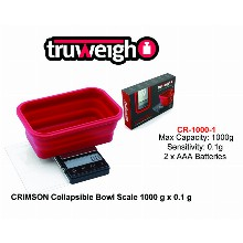 Truweight Crimson Collapsible Bowl Scale Cr 1000 1