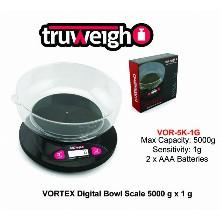 Truweight Vortex Digital Bowl Scale Vor 5k 1g