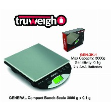 Truweight General Compact Bench Scale Gen 3k 1