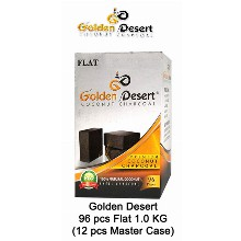 Golden Desert Charcoal Flats 1 Kg 96 Pcs