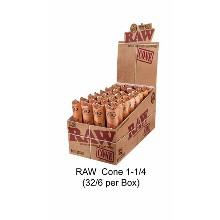 Raw Cone Classic 1 1 & 4 Size