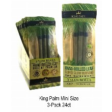 King Palm 3 Slim Rolls