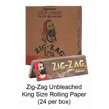 Zig Zag Unbleached King Size Rolling Paper