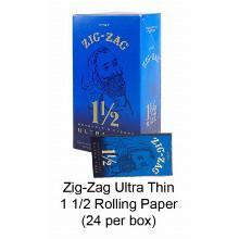 Zig Zag Ultra Thin 1 1 & 2 Rolling Paper