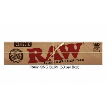 Raw King Slim Paper