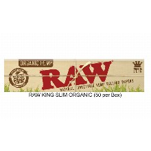 Raw King Slim Organic Paper