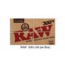 Raw 300 Inchs Paper