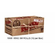 Raw King 3m Rolls