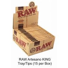 Raw Artesano King Tray & tips