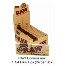 Raw Connoisseur 1 1 & 4 Plus Tips