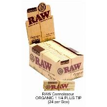 Raw Connoisseur Organic 1 1 & 4 Plus Tip