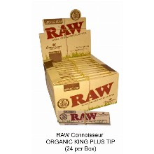 Raw Connoisseur Organic King Plus Tip