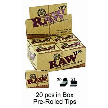 Raw Pre rolled Tips