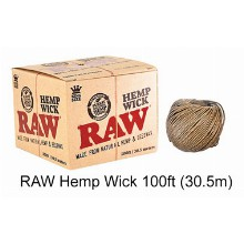 Raw Hemp Wick 100ft 30.5m