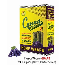 Canna Hemp Wraps grape