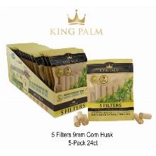 King Palm 9mm Corn Husk Filters