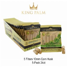 King Palm 10mm Corn Husk Filters
