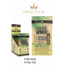 King Palm 5 Slim Rolls