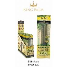 King Palm 2 Slim Rolls