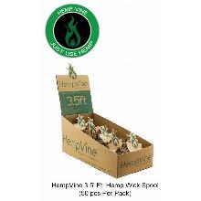 HempVine 3.5 Inch Hemp Wick Spool