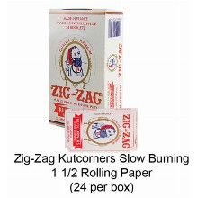 Zig Zag Kutcorners Slow Burning 1 1 & 4 Rolling Paper